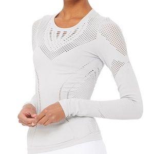 NWT! Alo Yoga Lark Long Sleeve top